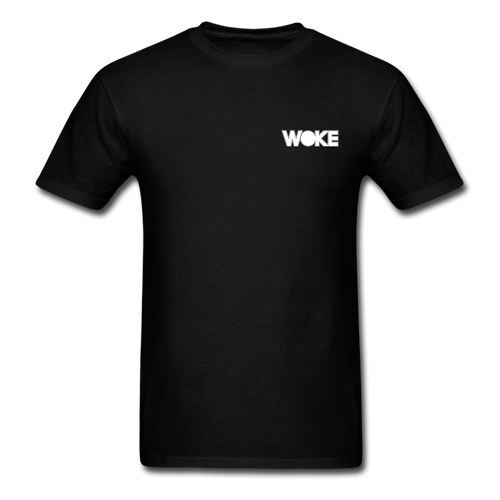 Kyle - Woke Shirt (White Design) - black