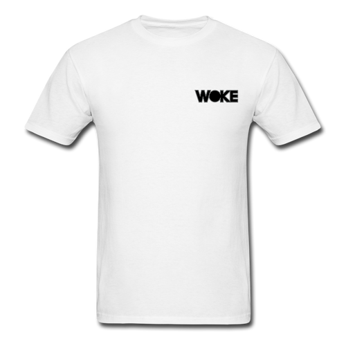 Kyle - Woke Shirt (Black Design) - white