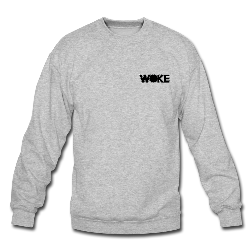 Load image into Gallery viewer, Kyle - Sweatshirt (Black Design) - heather gray