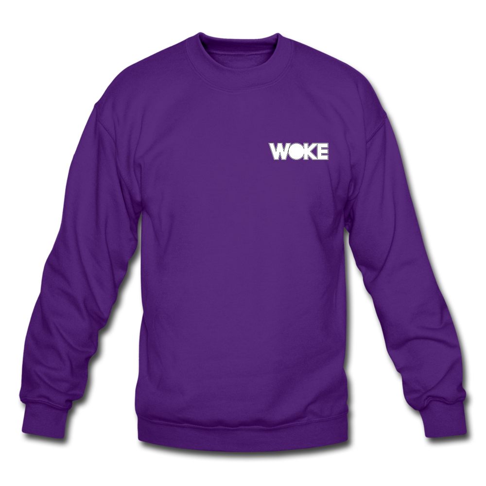 Load image into Gallery viewer, Kyle - Sweatshirt (White Design) - purple