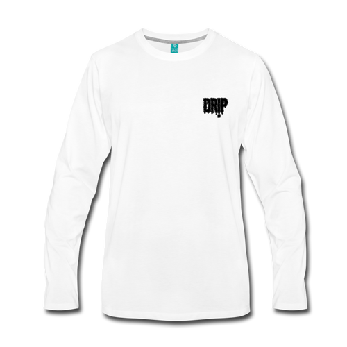 Dre x Jaxon - Drip Long Sleeve - white