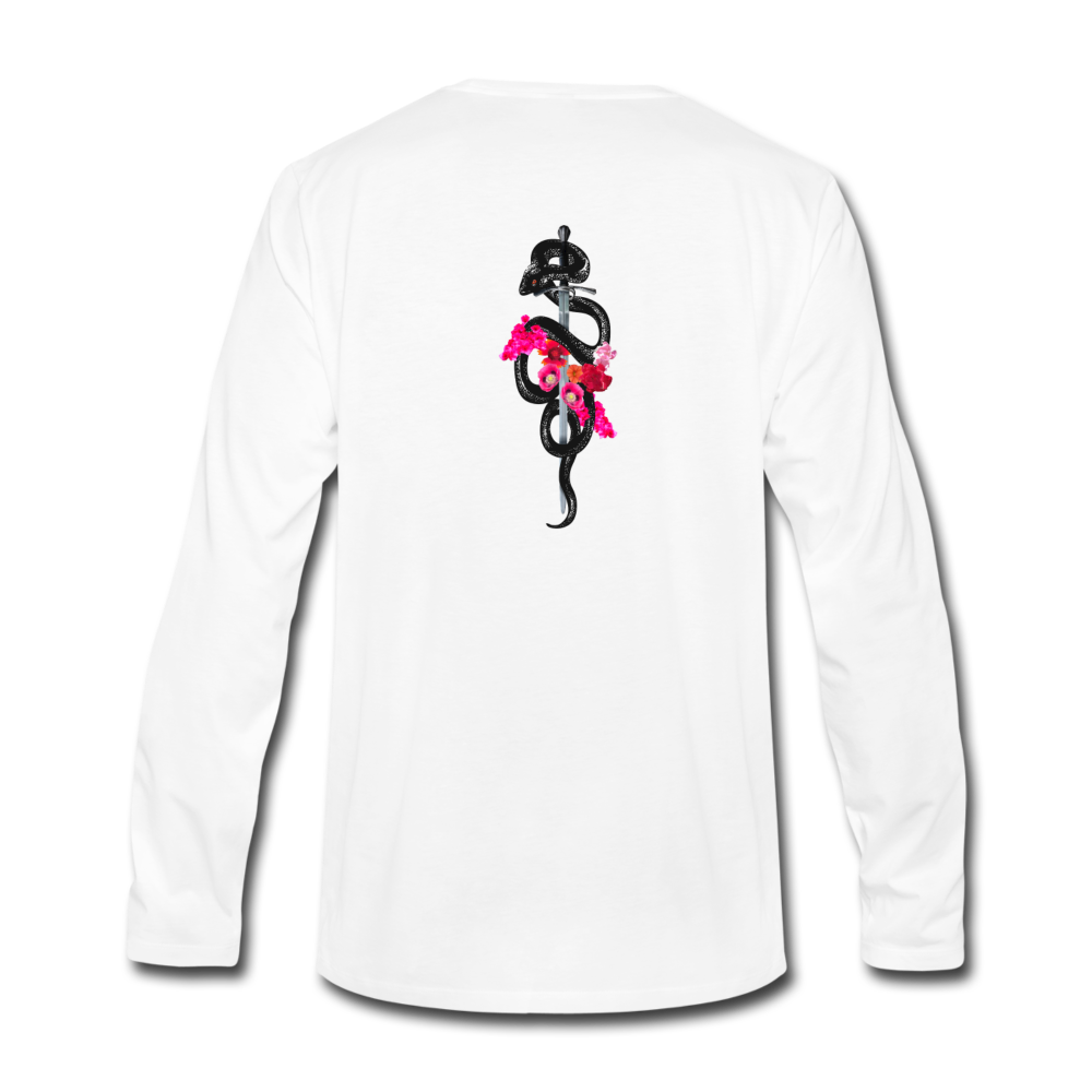 Load image into Gallery viewer, Dre x Jaxon - Drip Long Sleeve - white