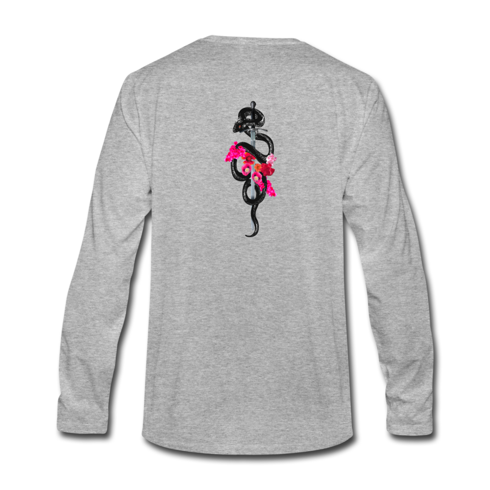 Load image into Gallery viewer, Dre x Jaxon - Drip Long Sleeve - heather gray