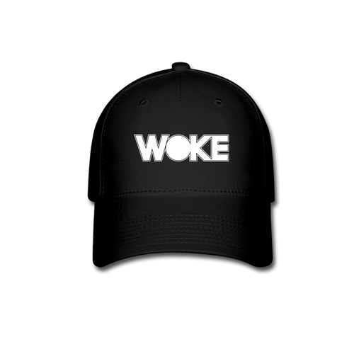 Kyle - Woke Hat (White Design) - black
