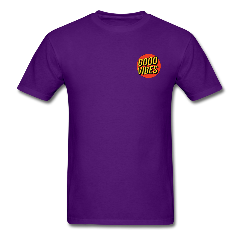 Load image into Gallery viewer, Matt: Good Vibes Shirt - purple