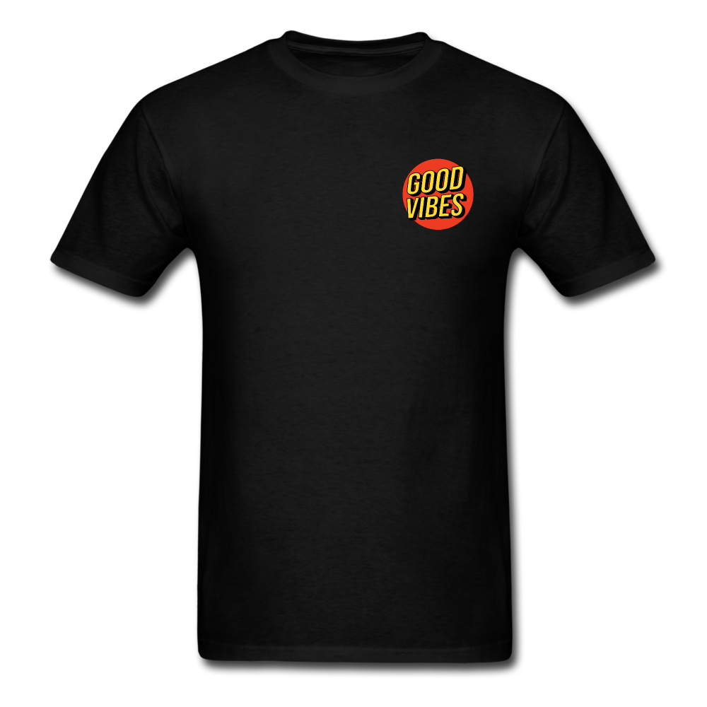 Load image into Gallery viewer, Matt: Good Vibes Shirt - black