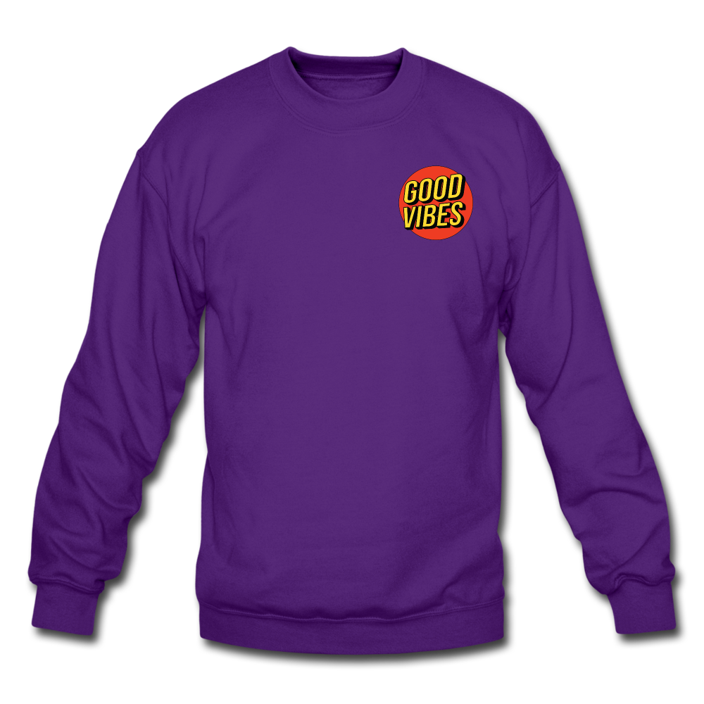 Load image into Gallery viewer, Matt: Good Vibes Sweatshirt - purple