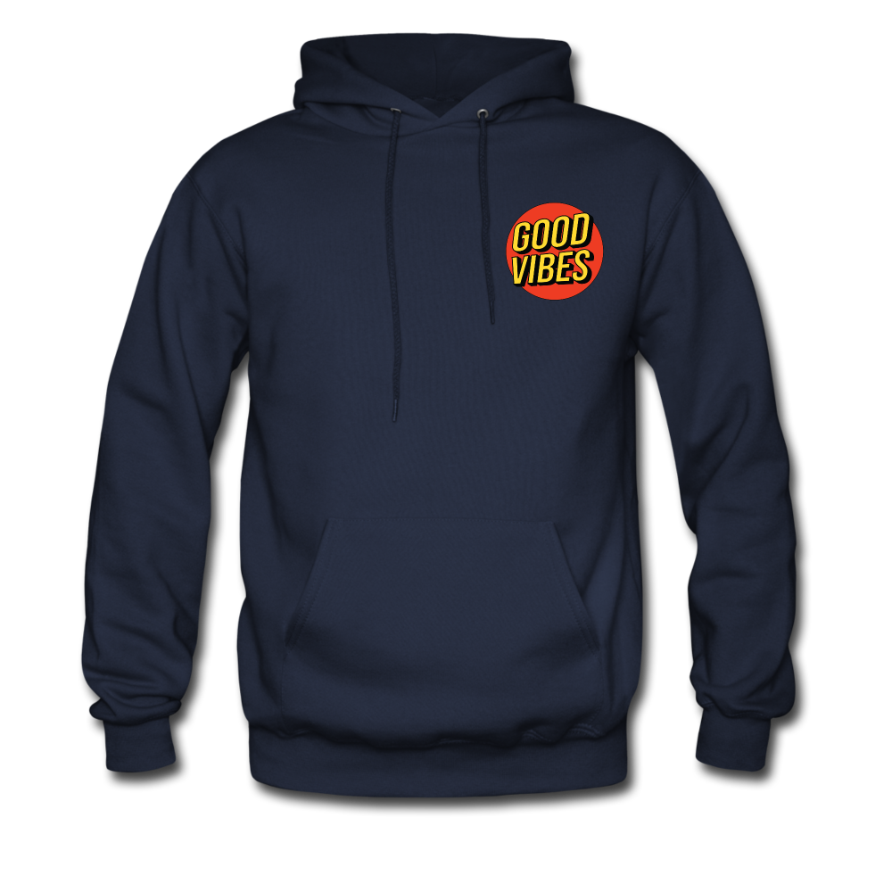 Load image into Gallery viewer, Matt: Good Vibes Hoodie - navy