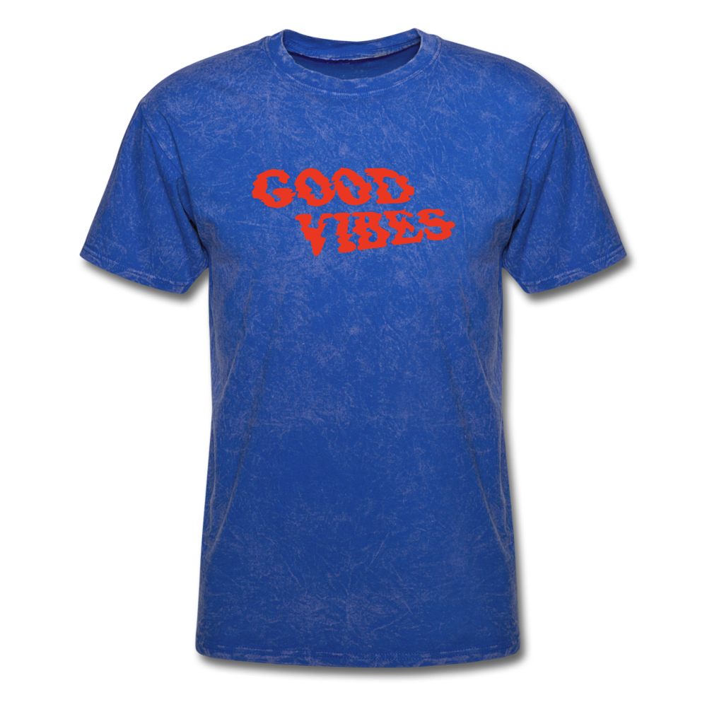 Load image into Gallery viewer, Matt: Good Vibes Shirt - mineral royal