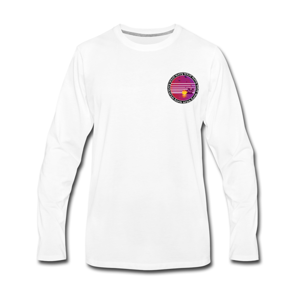 Load image into Gallery viewer, Ryan Wauters: Wavy Wear Long Sleeve - white