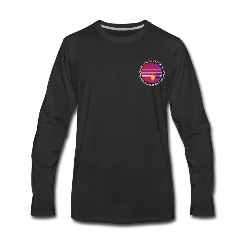 Load image into Gallery viewer, Ryan Wauters: Wavy Wear Long Sleeve - black