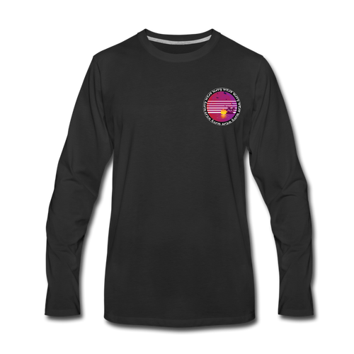 Ryan Wauters: Wavy Wear Long Sleeve - black