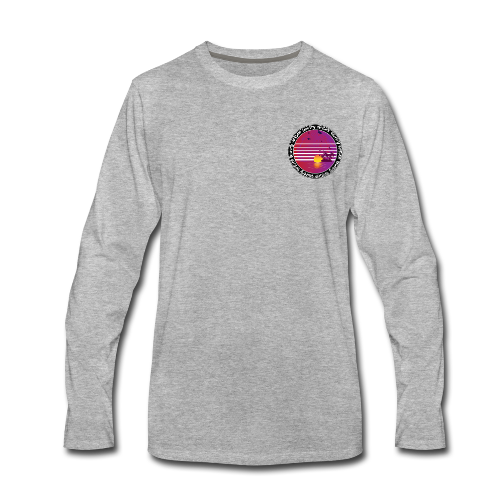 Load image into Gallery viewer, Ryan Wauters: Wavy Wear Long Sleeve - heather gray