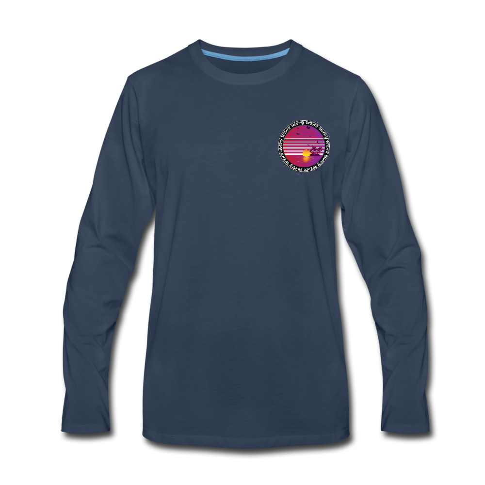 Load image into Gallery viewer, Ryan Wauters: Wavy Wear Long Sleeve - navy