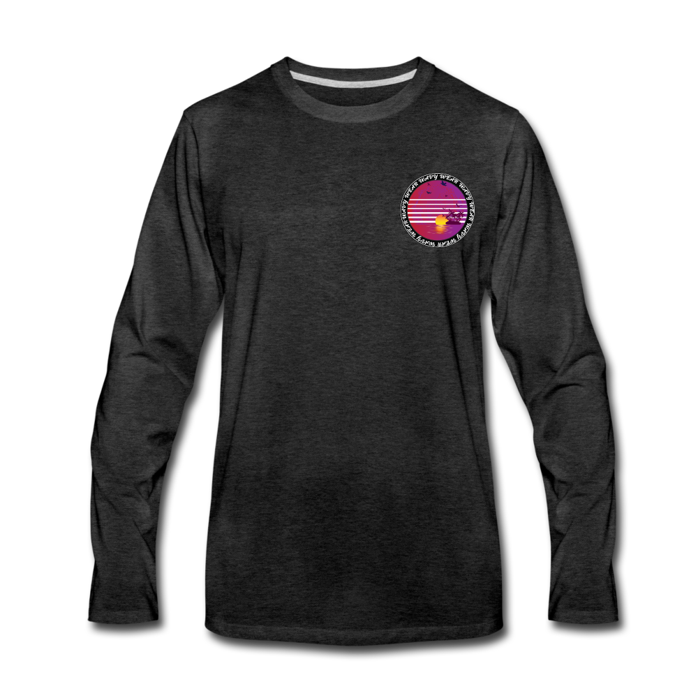 Load image into Gallery viewer, Ryan Wauters: Wavy Wear Long Sleeve - charcoal gray