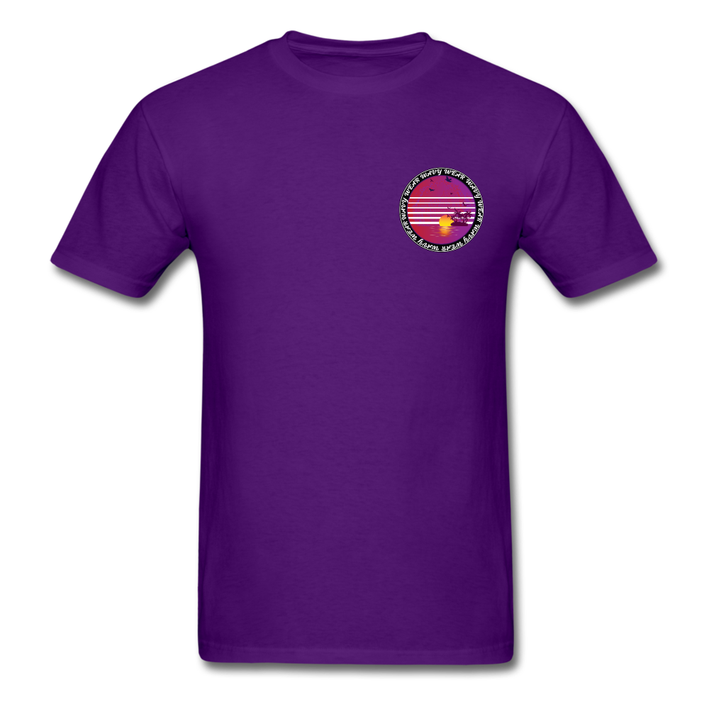 Load image into Gallery viewer, Ryan Wauters: Wavy Wear Shirt - purple