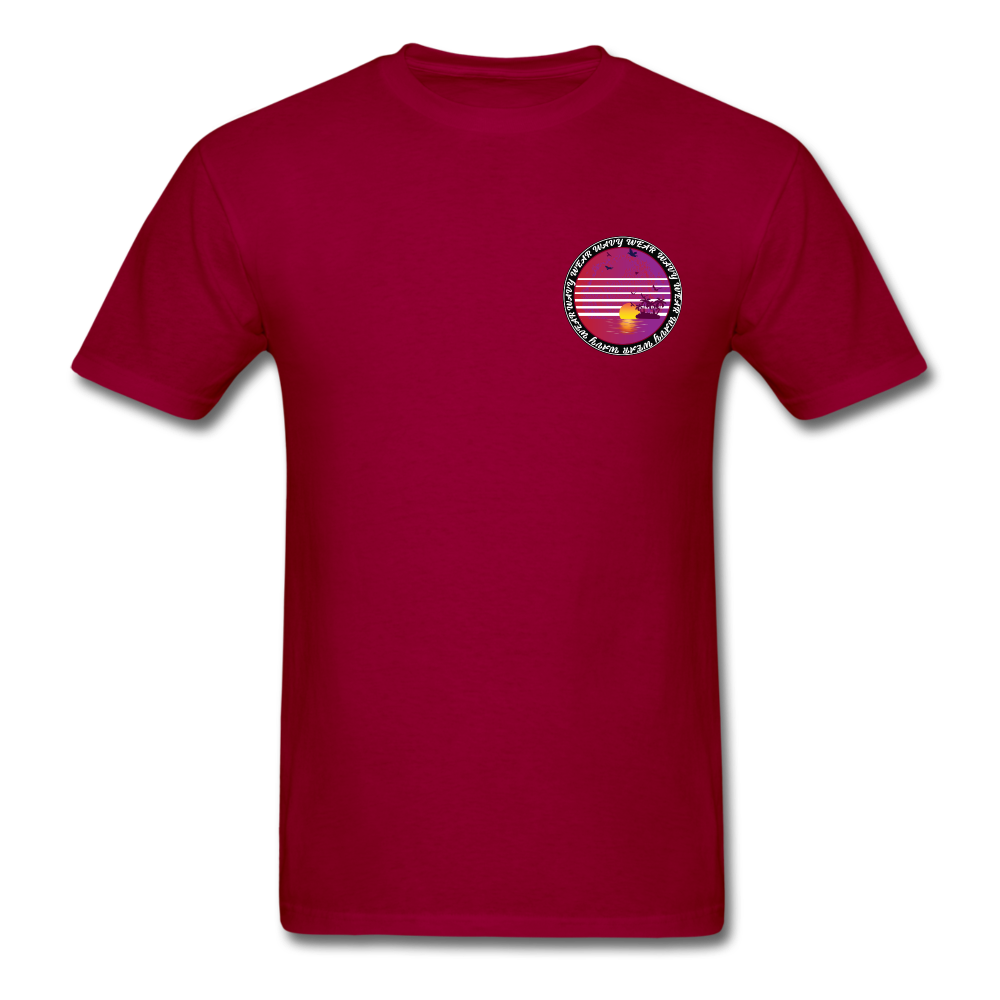 Load image into Gallery viewer, Ryan Wauters: Wavy Wear Shirt - dark red