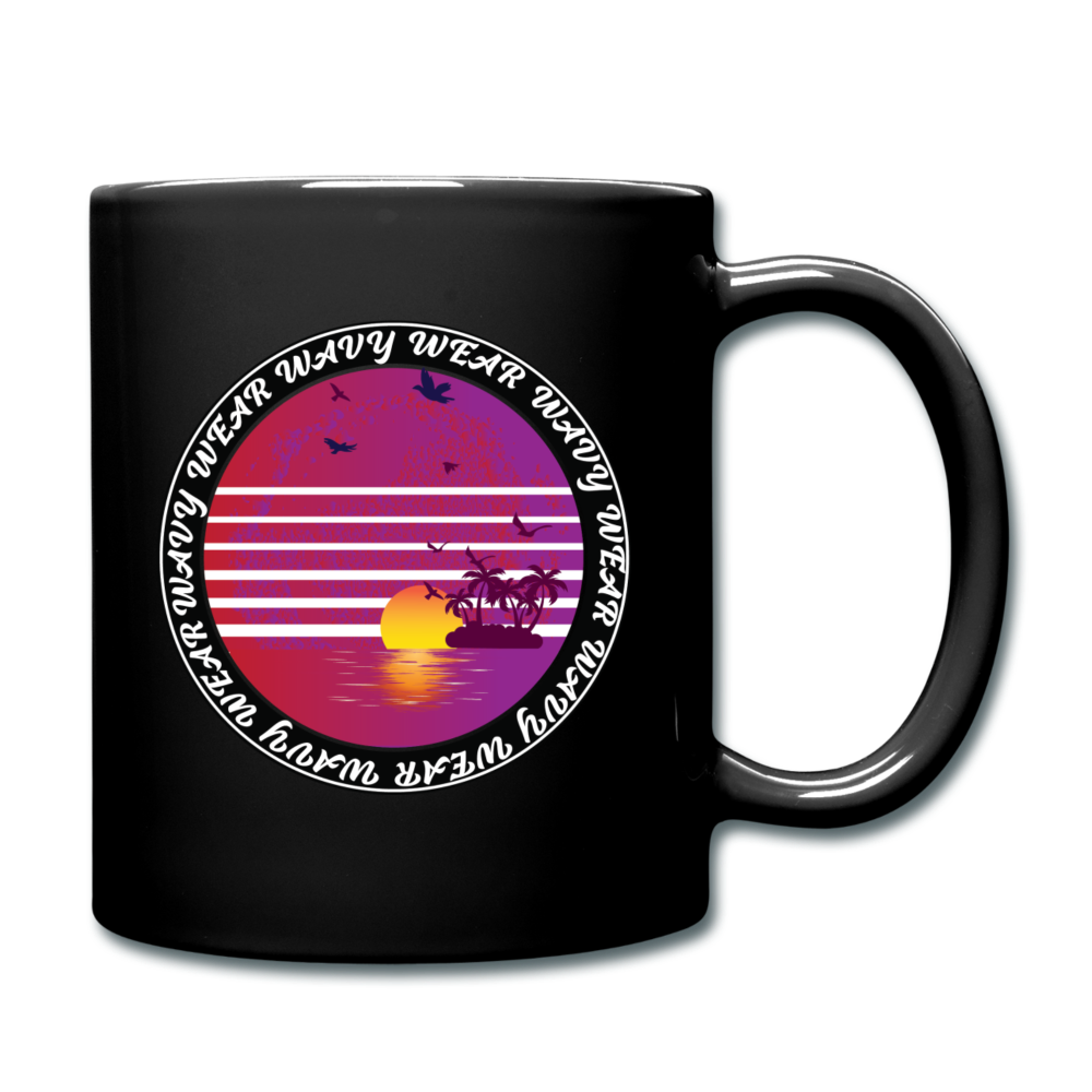 Load image into Gallery viewer, Ryan Wauters: Wavy Wear Mug - black
