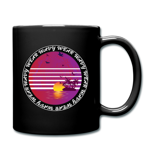 Ryan Wauters: Wavy Wear Mug - black
