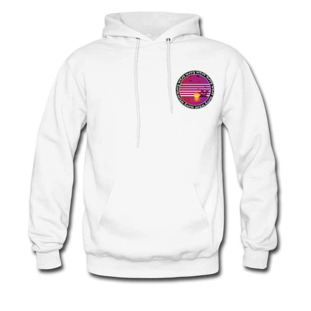 Load image into Gallery viewer, Ryan Wauters: Wavy Wear Hoodie - white