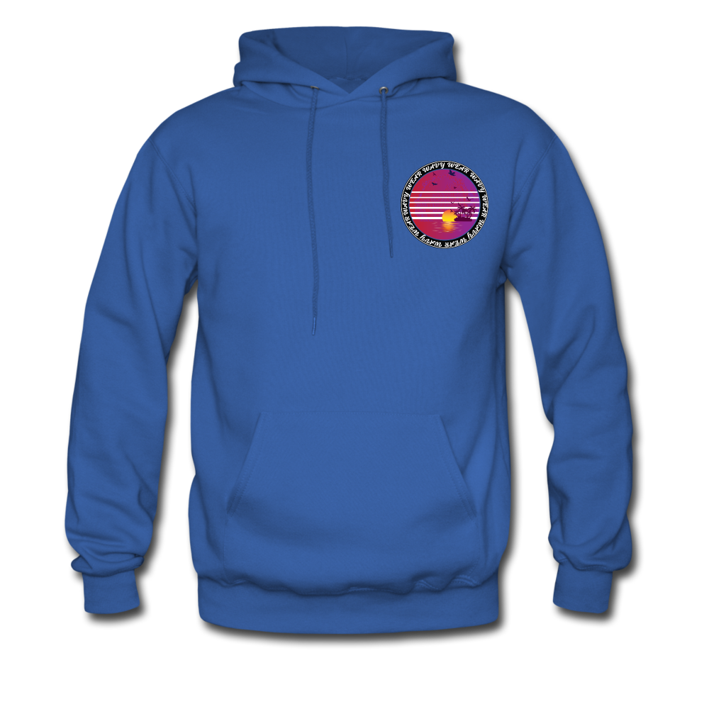 Load image into Gallery viewer, Ryan Wauters: Wavy Wear Hoodie - royal blue