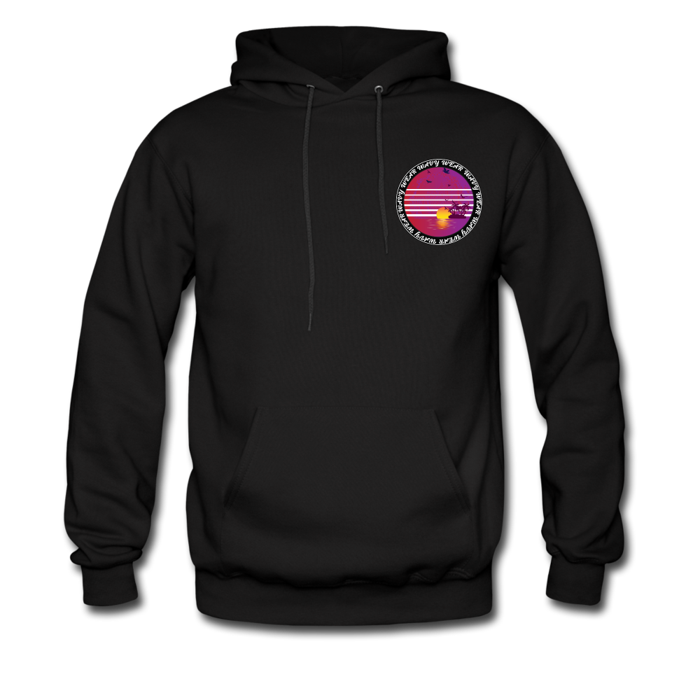 Load image into Gallery viewer, Ryan Wauters: Wavy Wear Hoodie - black