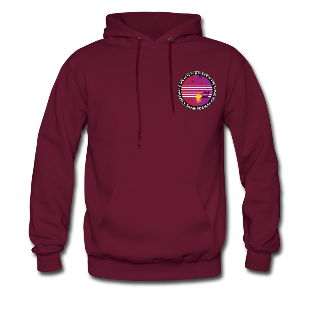 Load image into Gallery viewer, Ryan Wauters: Wavy Wear Hoodie - burgundy
