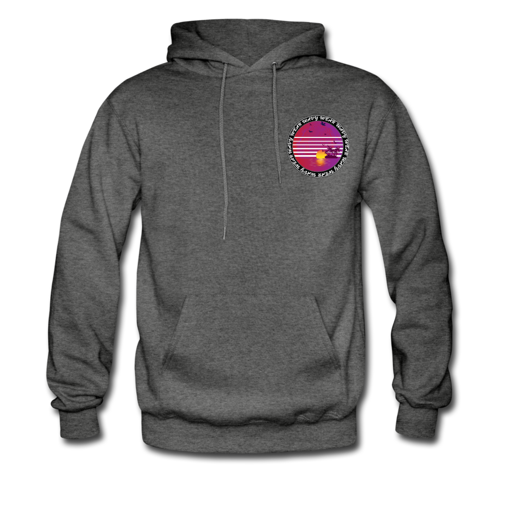 Load image into Gallery viewer, Ryan Wauters: Wavy Wear Hoodie - charcoal gray