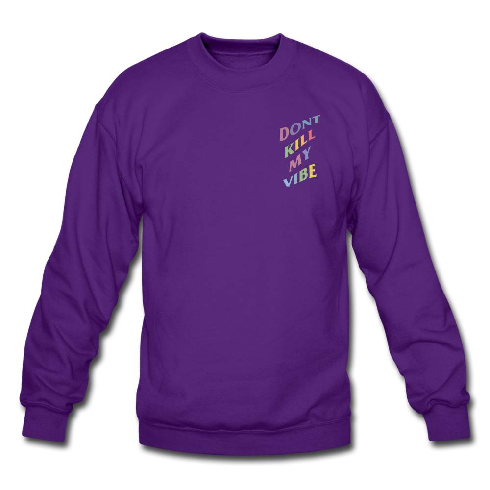 Load image into Gallery viewer, Don't Kill My Vibe Sweatshirt - purple