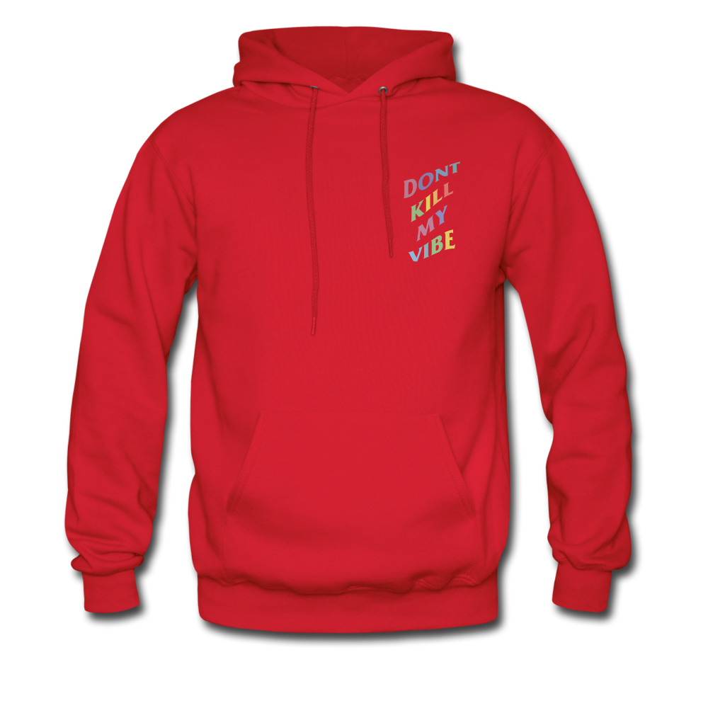 Load image into Gallery viewer, Don't Kill My Vibe Hoodie - red