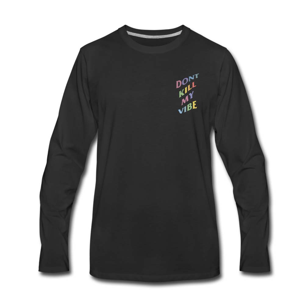 Load image into Gallery viewer, Don't Kill My Vibe Long Sleeve - black