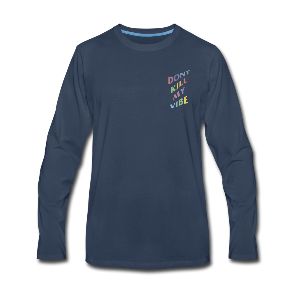 Load image into Gallery viewer, Don't Kill My Vibe Long Sleeve - navy