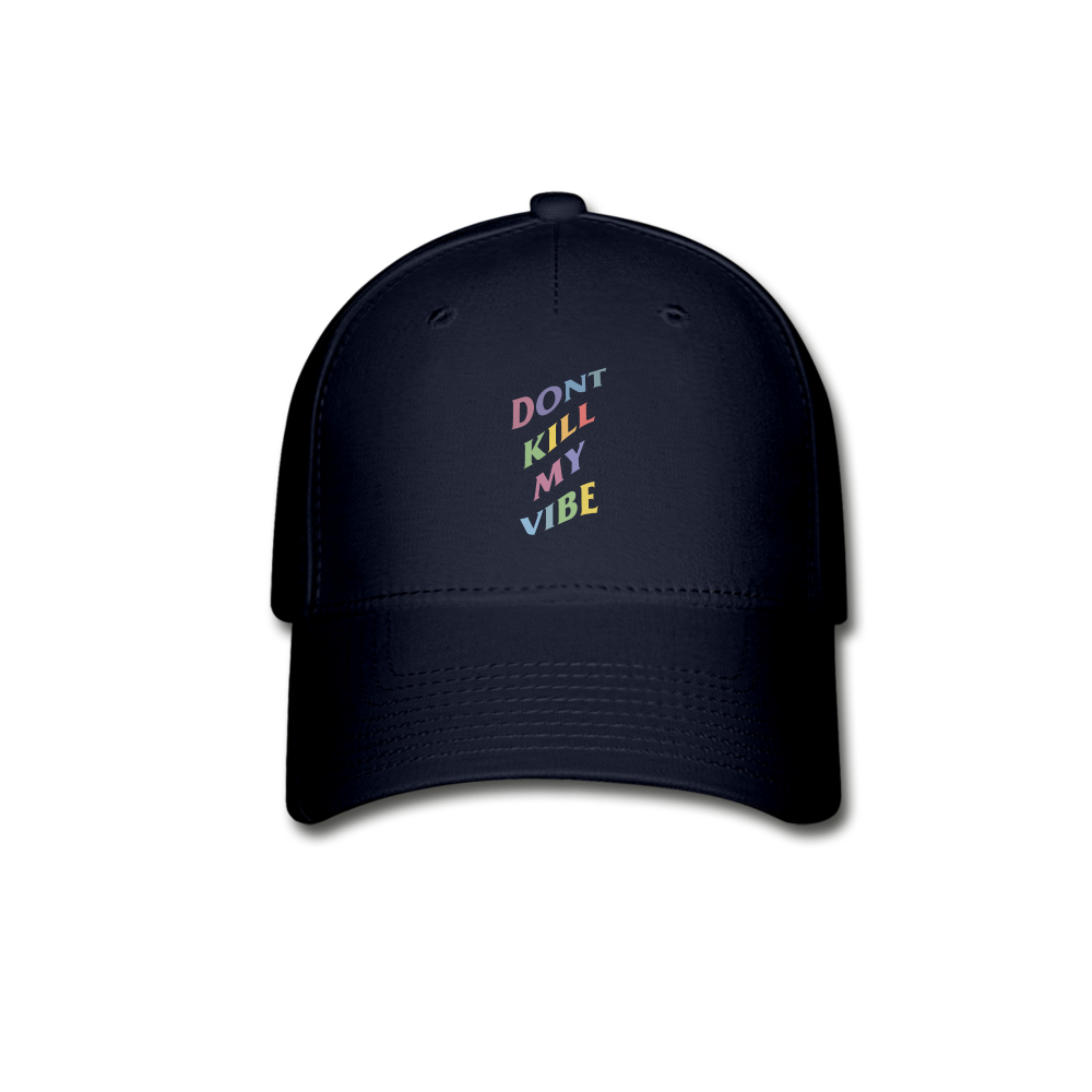 Load image into Gallery viewer, Don't Kill My Vibe Hat - navy