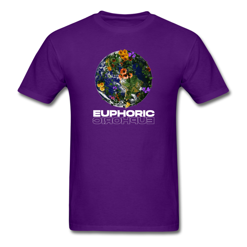 Load image into Gallery viewer, Euphoric Mateo Shirt (Black/White Design) - purple