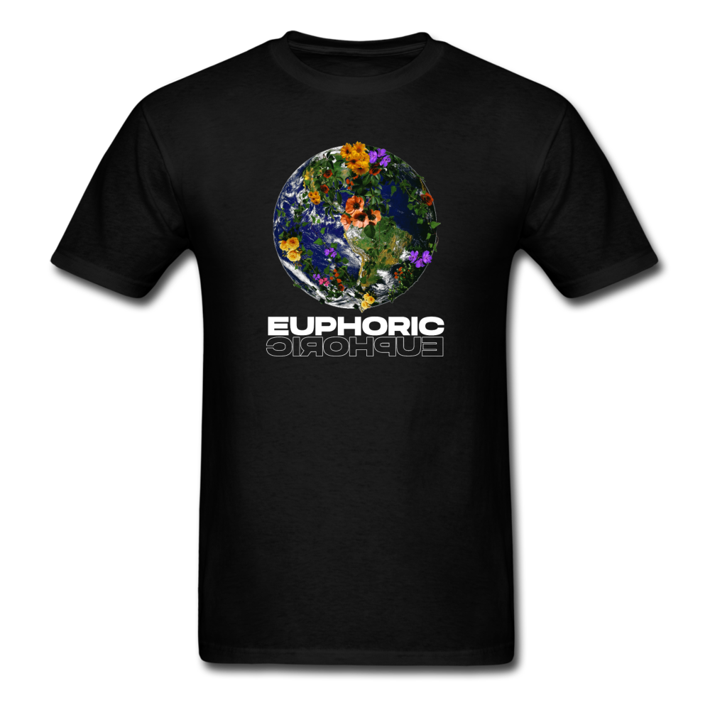 Load image into Gallery viewer, Euphoric Mateo Shirt (Black/White Design) - black