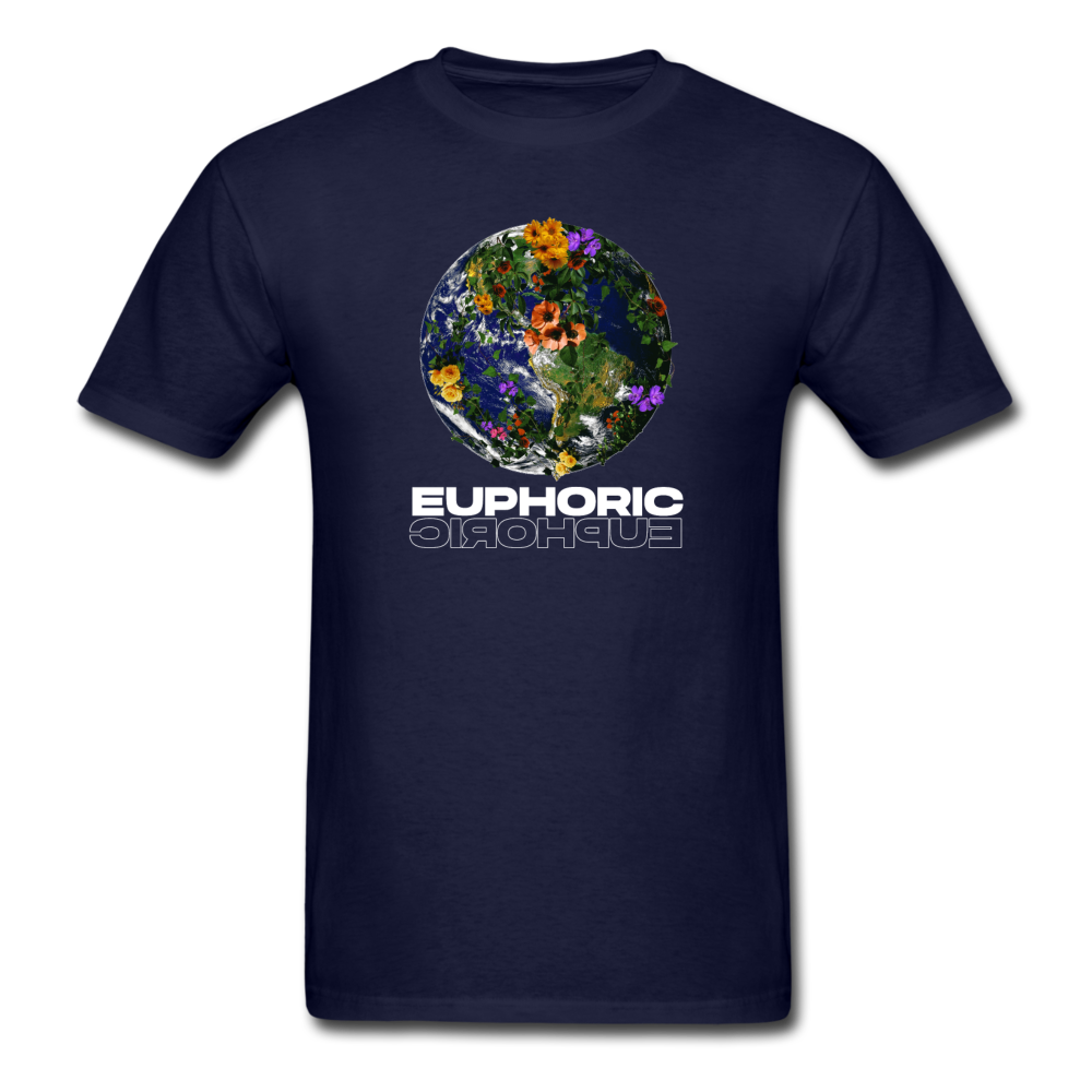 Load image into Gallery viewer, Euphoric Mateo Shirt (Black/White Design) - navy