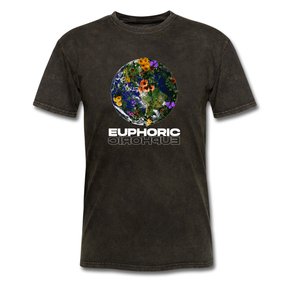 Load image into Gallery viewer, Euphoric Mateo Shirt (Black/White Design) - mineral black