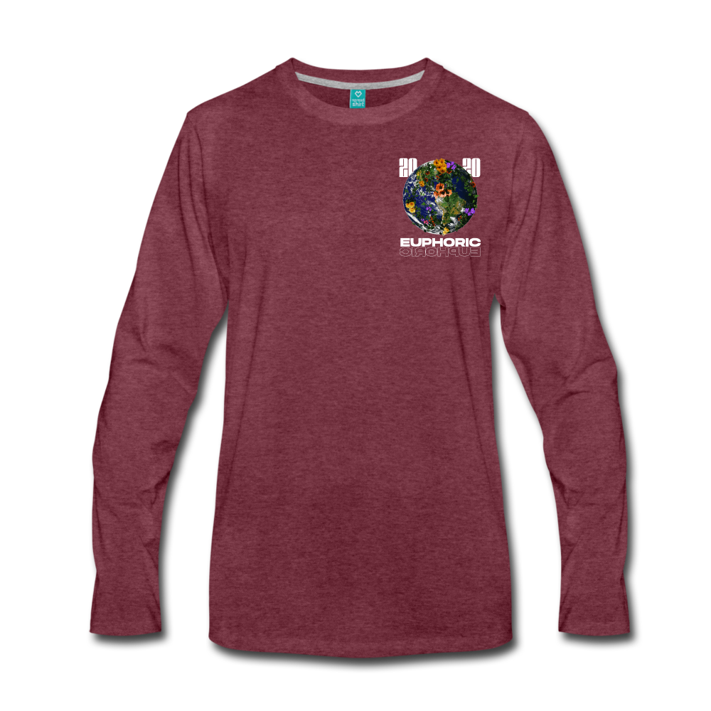 Load image into Gallery viewer, Euphoric Mateo 2020 Limited Edition Long Sleeve - heather burgundy