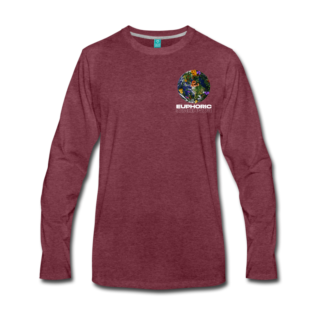Load image into Gallery viewer, Euphoric Mateo Long Sleeve - heather burgundy
