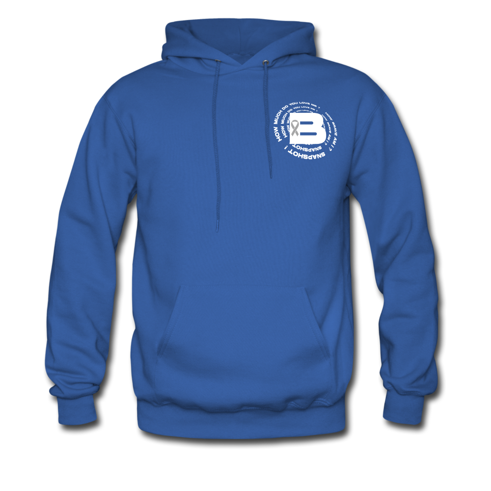 Load image into Gallery viewer, B's Slogan Hoodie - royal blue