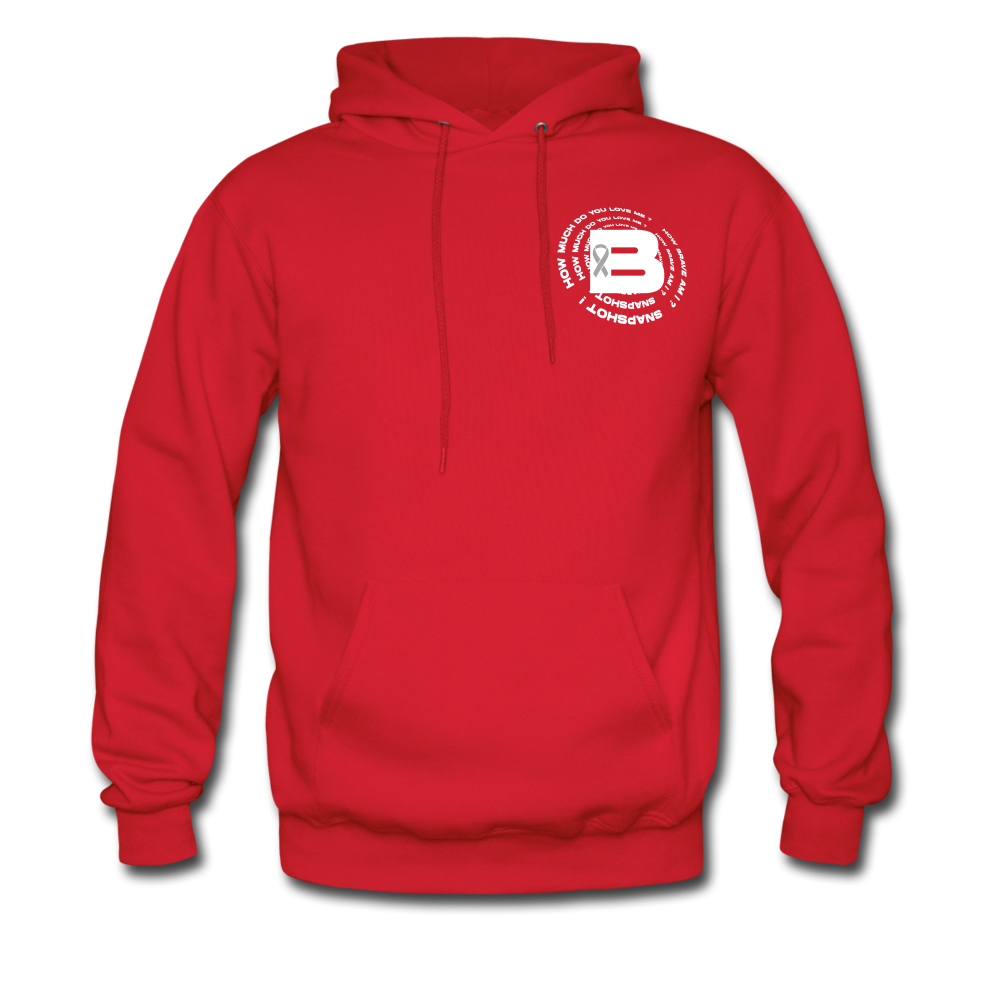 Load image into Gallery viewer, B's Slogan Hoodie - red