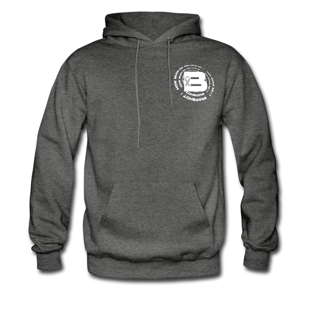 Load image into Gallery viewer, B's Slogan Hoodie - charcoal gray