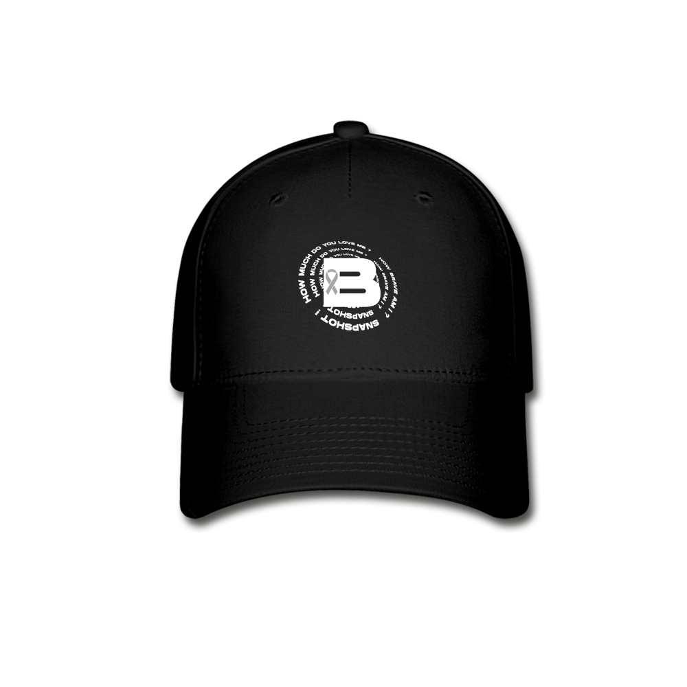 Load image into Gallery viewer, B's Slogan Hat - black