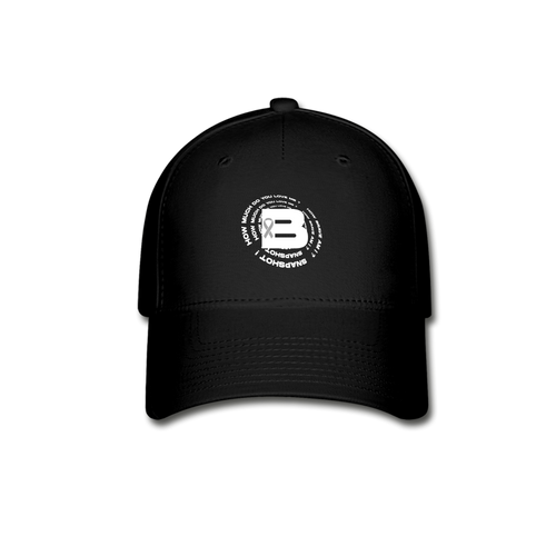 B's Slogan Hat - black