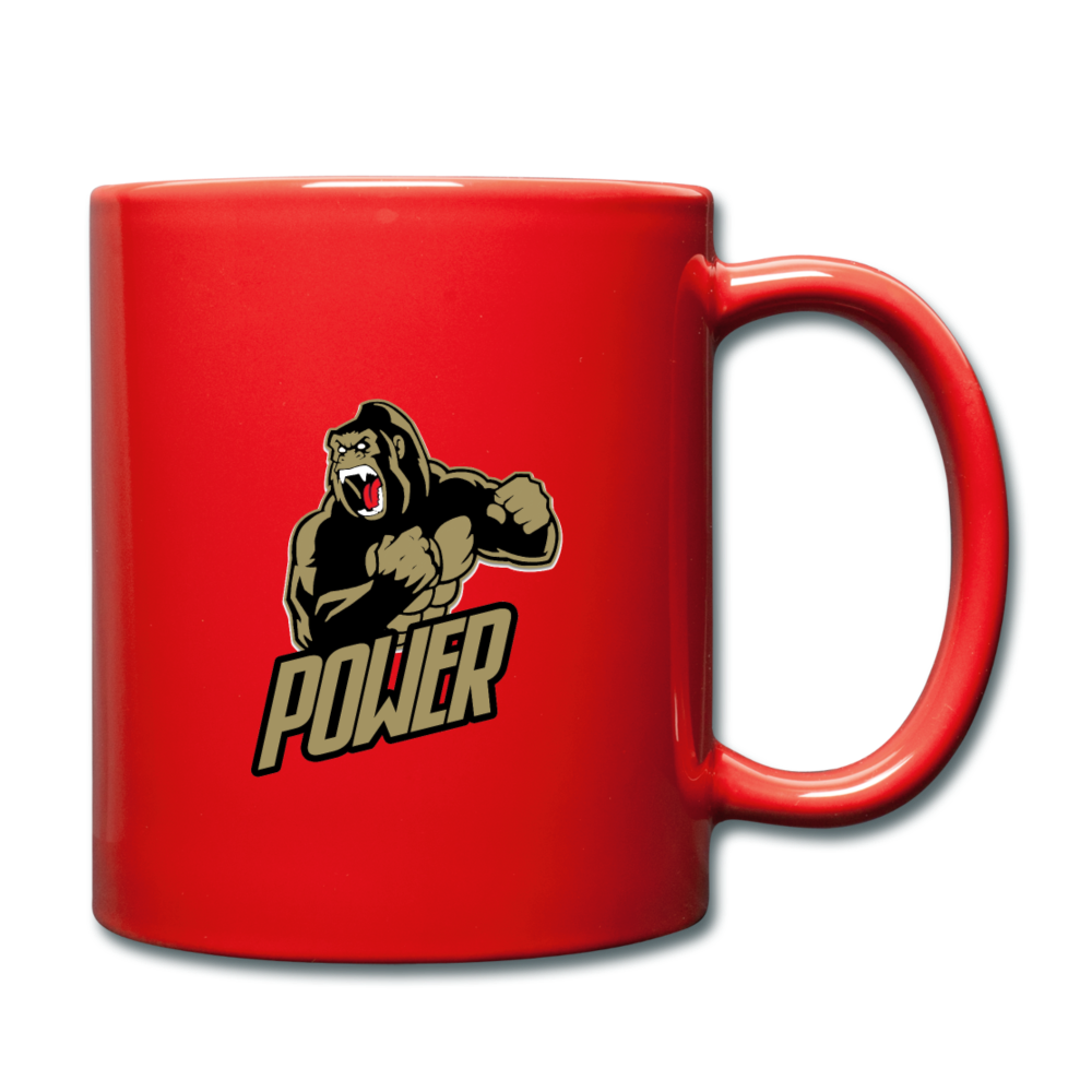 Load image into Gallery viewer, Poloboy Gorilla Mug - red