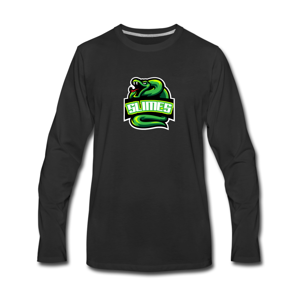 Load image into Gallery viewer, Mike Slime Long Sleeve - black
