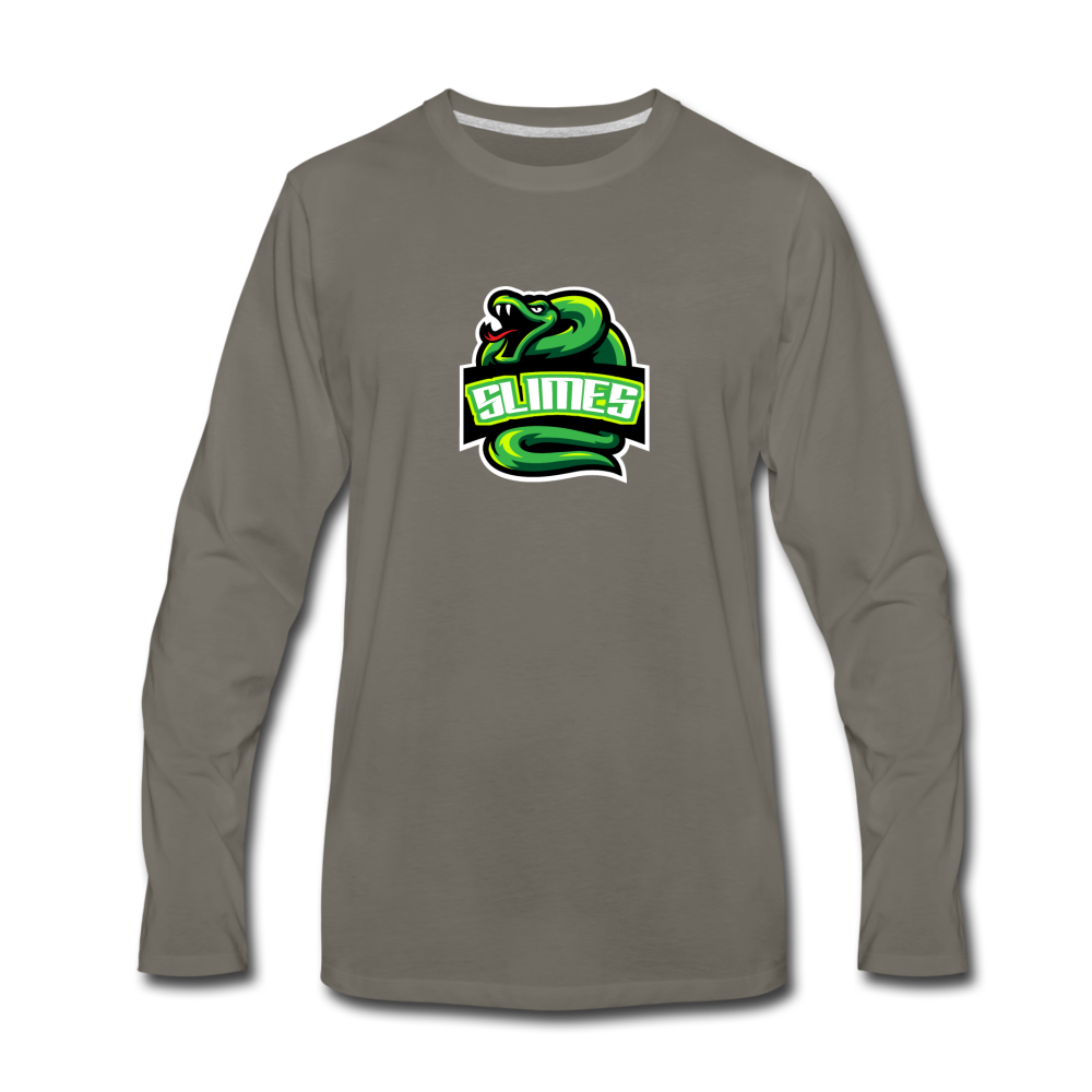 Load image into Gallery viewer, Mike Slime Long Sleeve - asphalt gray