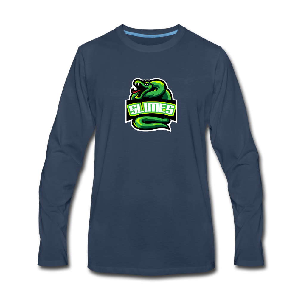 Load image into Gallery viewer, Mike Slime Long Sleeve - navy