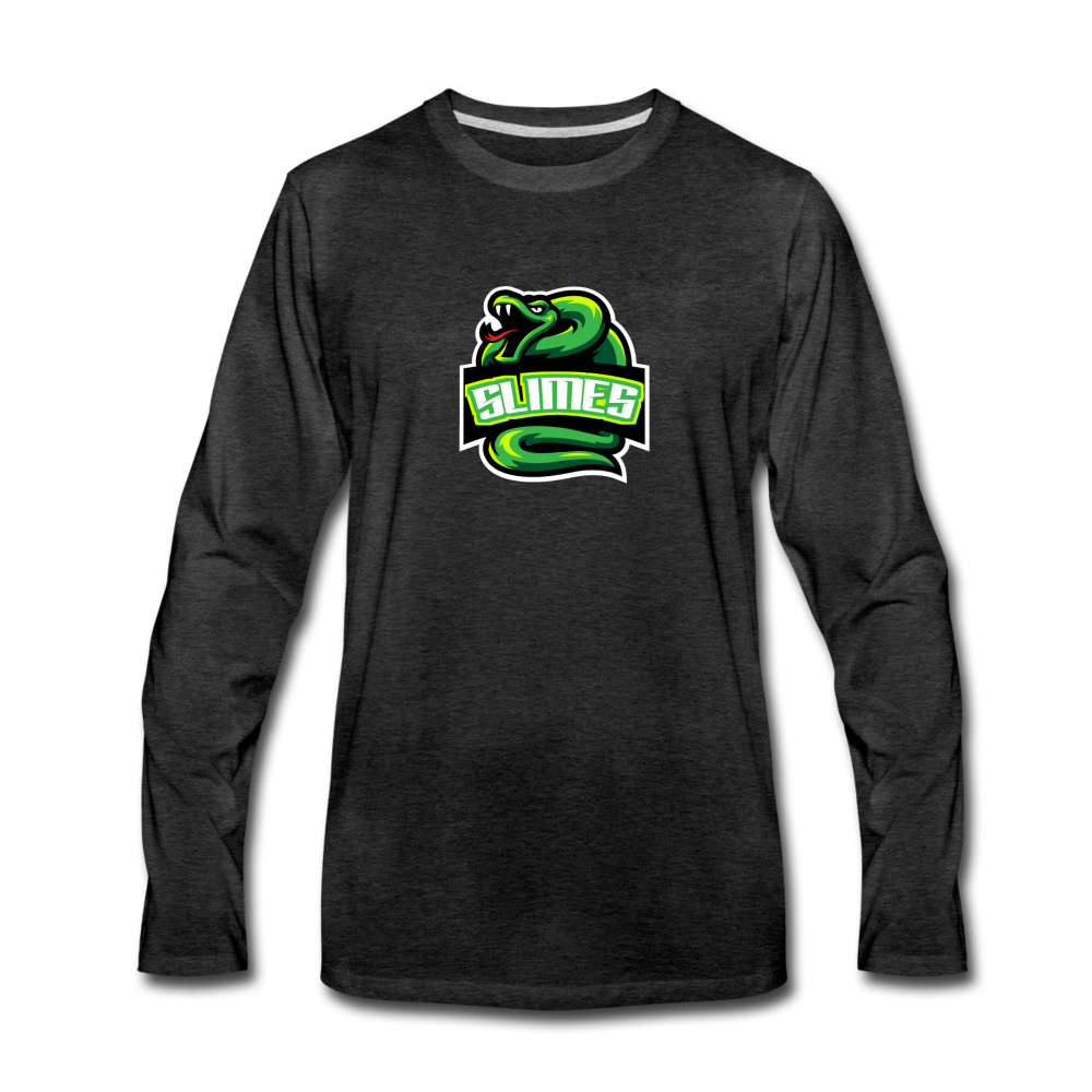 Load image into Gallery viewer, Mike Slime Long Sleeve - charcoal gray