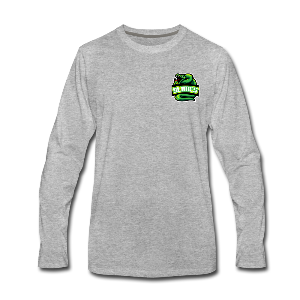 Load image into Gallery viewer, Mike Slime Long Sleeve - heather gray